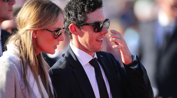 Rory McIlroy was friends with Erica Stoll before romance blossomed
