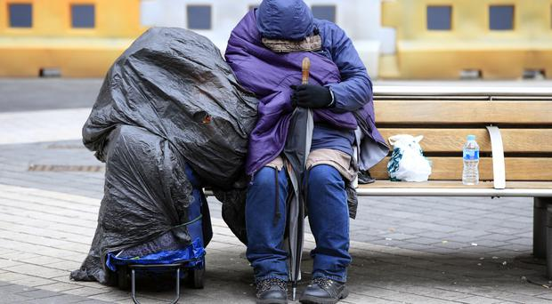 Some 220 emergency beds were opened for homeless people late last year