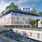 An artist's impression of the new hospital (Children's Hospital Group/PA Wire)