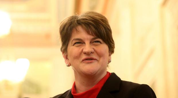 Northern Ireland's former first minister Arlene Foster