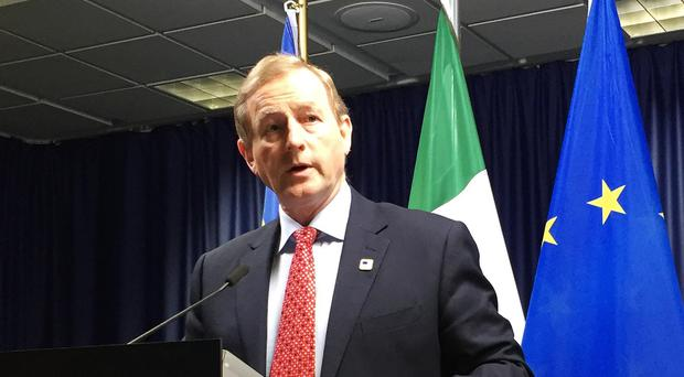 Taoiseach Enda Kenny said he raised the question of human rights with the Saudi Arabian government