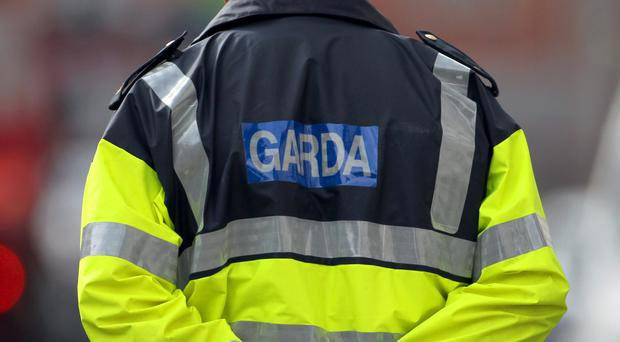 Gardai said they arrested one man, aged in his 40s, close to the crashed car and recovered a quantity of cash