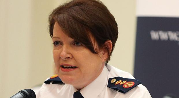 The Taoiseach was urged to relieve Garda Commissioner Noirin O'Sullivan, pictured, of her duties