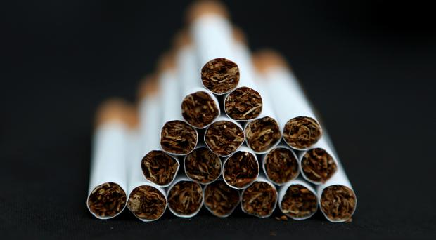 'Noel Dyer of N&N's in Slievegallion Drive was fined £200 for displaying cigarettes to a person under the age of 18, and a further £400 for subsequently selling them to the person concerned' (stock photo)