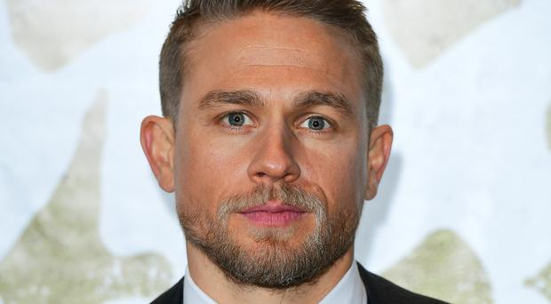 Charlie Hunnam at the European premiere of King Arthur at Cineworld Leicester Square