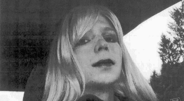 Chelsea Manning is due to leave a military jail on Wednesday, after serving seven years of a 35-year sentence for leaking hundreds of thousands of classified US Government documents (US Army via AP)