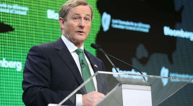 Enda Kenny said firms are finding new trading avenues in the face of economic uncertainty