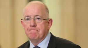 Charlie Flanagan said Ireland stood by the UK