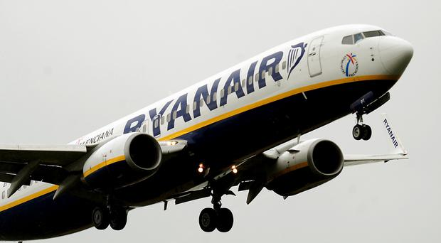 Ryanair has posted profits of 1.31 billion euro for the year to March 31