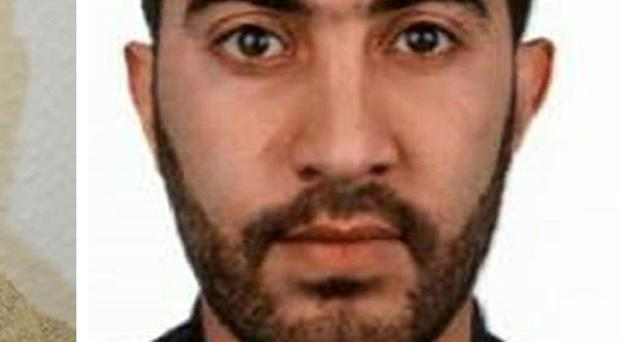 Rachid Redouane is known to have lived in Ireland at different times over the last number of years (Met Police)
