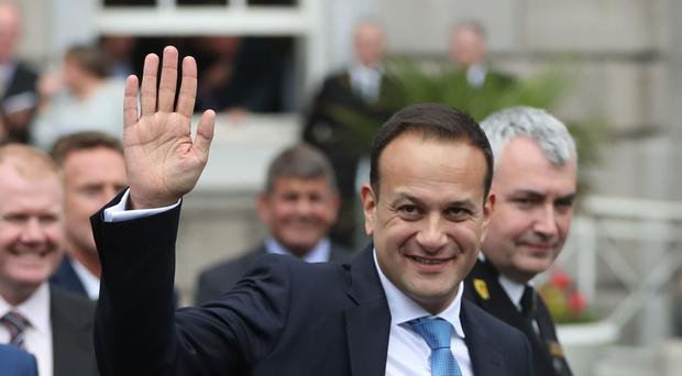 Leo Varadkar is heading to Downing Street for talks with Theresa May