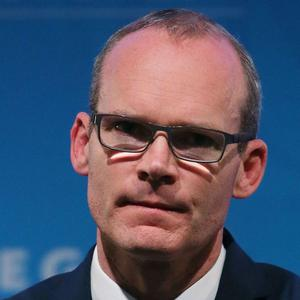 Ireland's Foreign Affairs Minister Simon Coveney said an unprecedented