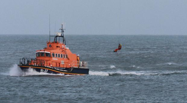 Only one of the men was wearing a life jacket, Irish Coast Guard chiefs have said.