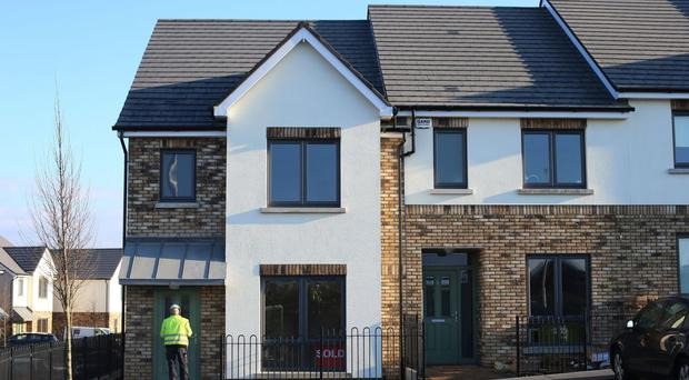 In Dublin property prices were up just over 11%