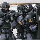 Members of the Garda Emergency Response Unit and Regional Armed Support Units during a previous training exercise