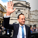Delighted: Taoiseach Leo Varadkar