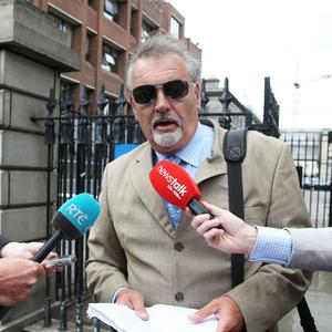 Ian Bailey leaves the Court of Appeal in Dublin
