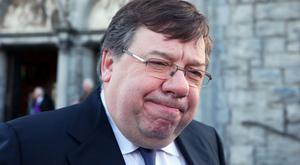 Brian Cowen was given an honorary doctorate