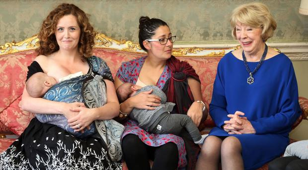 Calls have been made to transform attitudes to breastfeeding