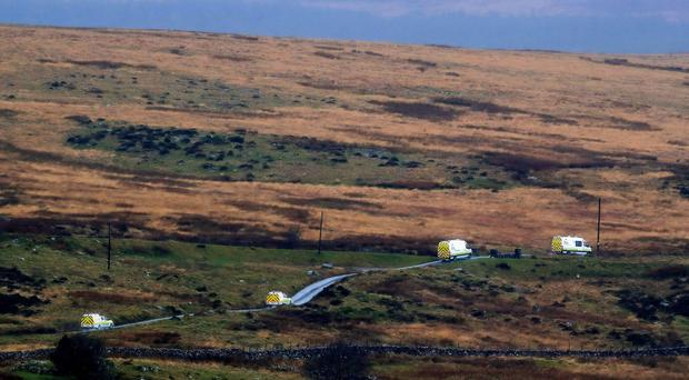 The wreckage was found near Trawsfynydd in the Snowdonia mountain range