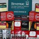 The goods were stopped at Dublin Port and found hidden inside a consignment of soft drinks and snacks from Portugal (Revenue/PA)