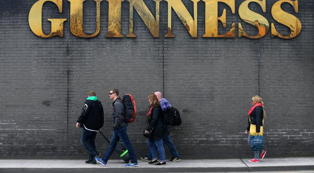 The number of British tourists visiting Ireland has dropped to two million between January and July, down from 2.2 million in the same period last year