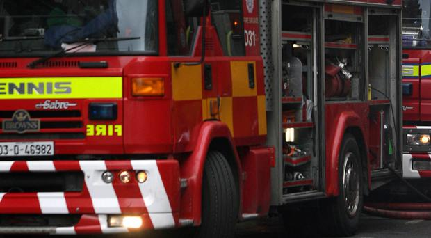 The blaze occurred in a house on Grove Road in the Rathmines area of Dublin