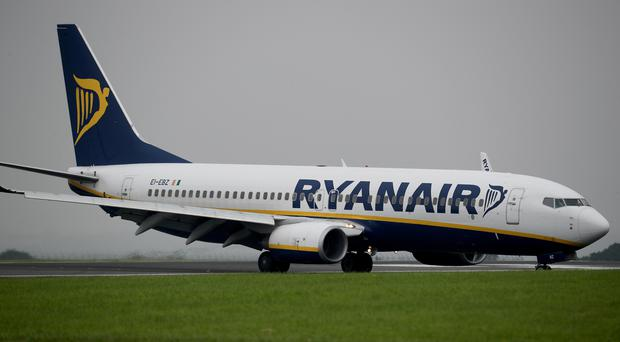 Ryanair said a backlog of annual leave for pilots and cabin crew had contributed to punctuality falling below 80%