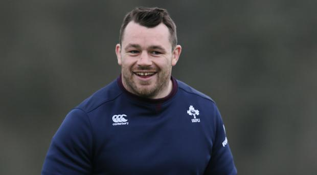 Cian Healy was asked to leave the plane