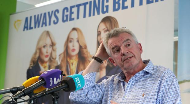 Ryanair CEO takes rap for costly cancellations 'cock up'