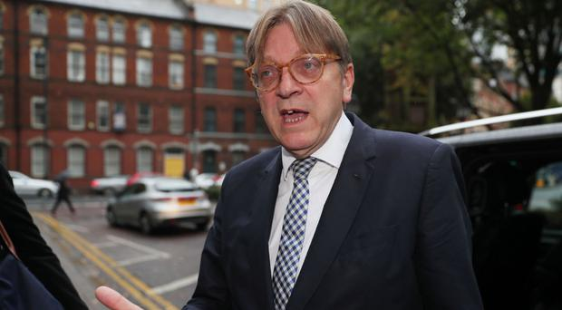 Verhofstadt to meet Northern Irish leaders to discuss borders