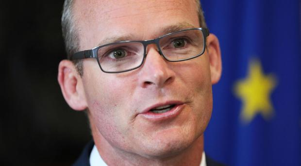 Foreign Affairs Minister Simon Coveney condemned the shootings at the Route 91 Harvest country music festival in Las Vegas