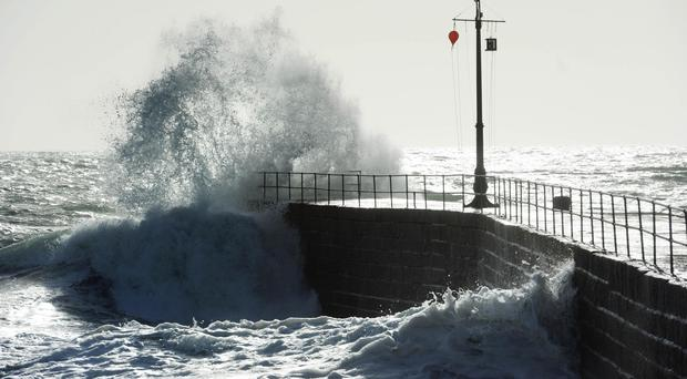 Ophelia causes a yellow weather warning for North East
