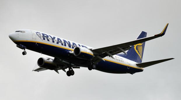 Ryanair was accused of not complying with the law over what it told passengers hit by cancellations they were entitled to