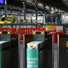Five 24-hour train stoppages have been scheduled over the next few weeks