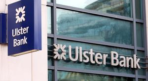 Ulster Bank to close 11 branches.