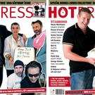 Previous covers of Hot Press magazine.