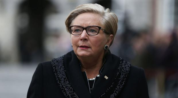Tanaiste Frances Fitzgerald has stepped down.