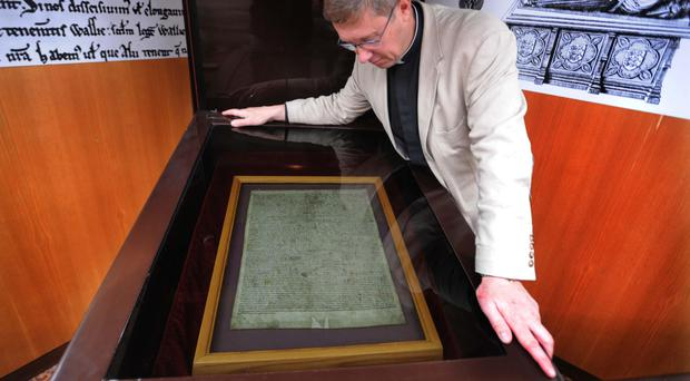 The Magna Carta was submitted to the Memory of the World Register in 2009