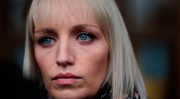 Jacqueline Connolly at the inquest yesterday