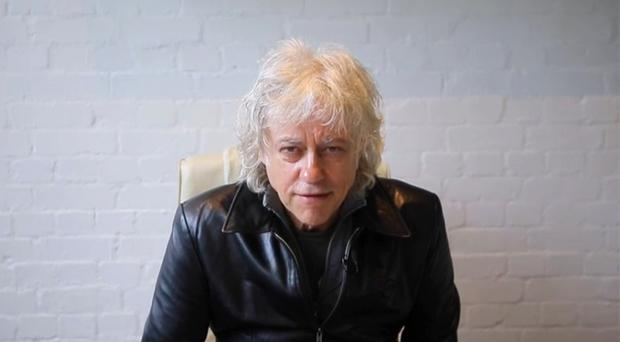 Bob Geldof donated the archive to the National Library of Ireland in Dublin