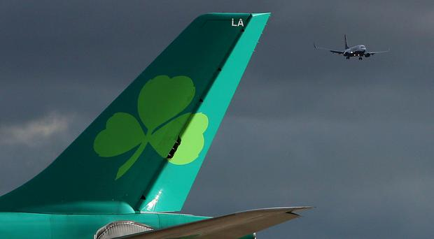 Aer Lingus said the flight had 267 passengers and 11 crew on board