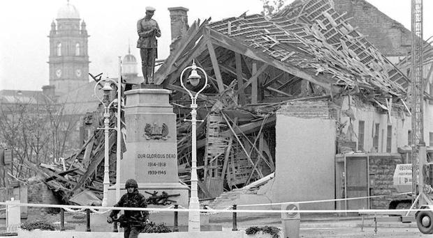 The Enniskillen bomb claimed 12 lives and left another 63 injured