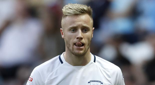 Preston North End's Kevin O'Connor during the pre-season friendly match at Deepdale, Preston. PRESS ASSOCIATION Photo. Picture date: Tuesday July 25, 2017. See PA story SOCCER Preston. Photo credit should read: Martin Rickett/PA Wire. RESTRICTIONS: EDITORIAL USE ONLY No use with unauthorised audio, video, data, fixture lists, club/league logos or