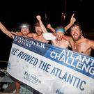 Rowers preparing for the start of the Talisker Whisky Atlantic Challenge (Talisker Whisky Atlantic Challenge/PA)