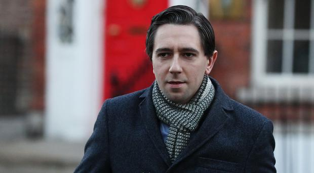 Health minister Simon Harris (Brian Lawless/PA)