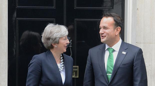 Prime Minister Theresa May and Irish Taoiseach Leo Varadkar discussed Brexit in a telephone call (John Stillwell/PA)