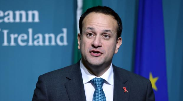 Leo Varadkar said he would like to establish the referendum commission formally on Friday (Laura Hutton/PA)