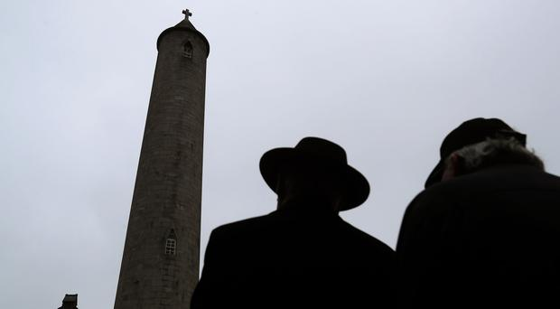 The O'Connell Tower in Glasnevin Cemetery in Dublin has reopened after 47 years (Brian Lawless/PA)