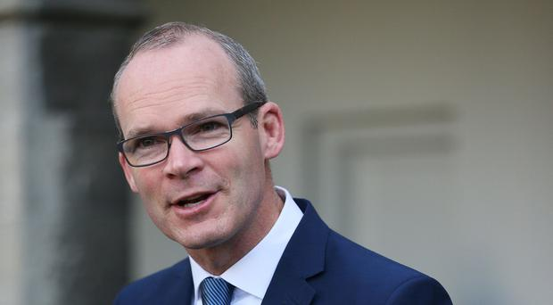 Simon Coveney announced the Department of Foreign Affairs and Trade is to produce a new White Paper on international development (Brian Lawless/PA)